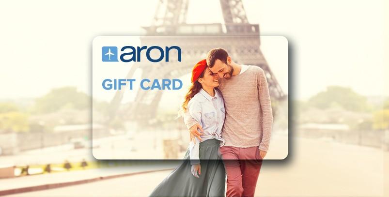 Gift Card-ul ARON - surpriza perfectă pentru orice ocazie, mai ales acum – în prag de Ziua Îndrăgostiților!