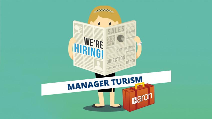Compania ARON angajează Manager Turism!